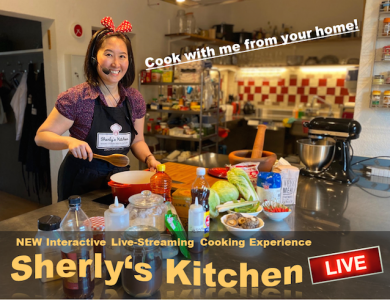 Virtual Cooking Class Sherlys Kitchen